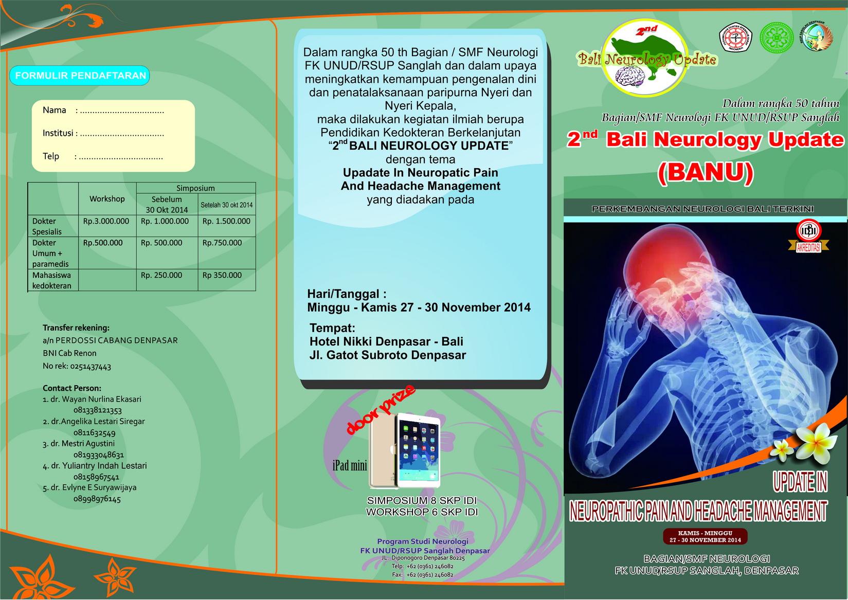 Brosur 2nd BANU 2014